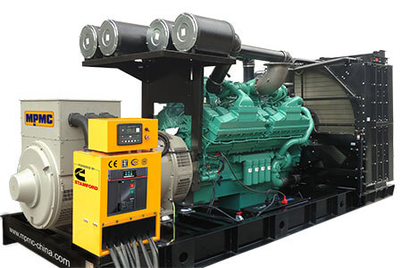 Open Diesel Generator Sets Made By MPMC