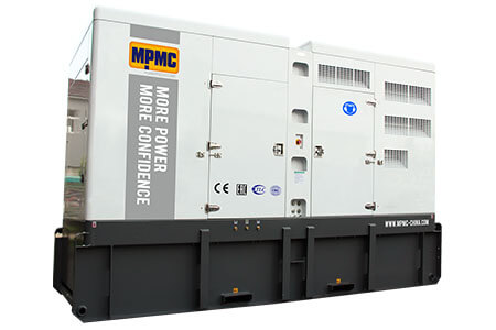 Silent Diesel Generator Sets Made By MPMC