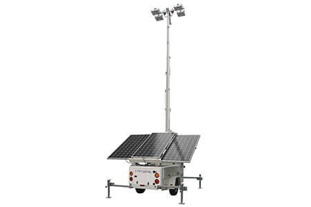 Hybrid Energy Lighting Tower Made By MPMC