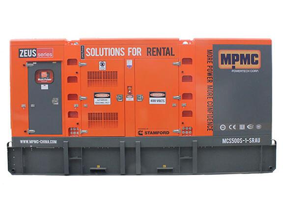 251-650 kVA Generator Sets Made By MPMC