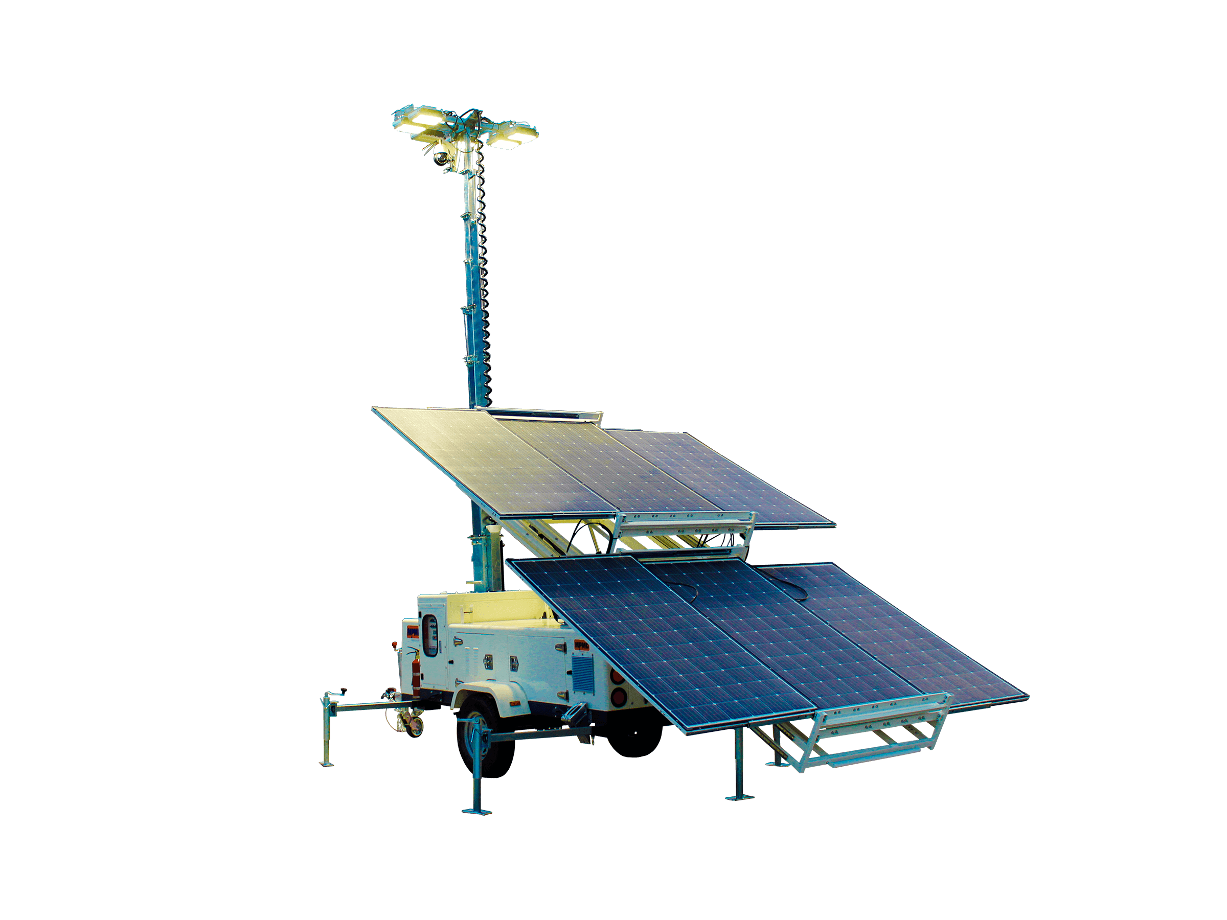 Solar Lighting Tower Made By MPMC