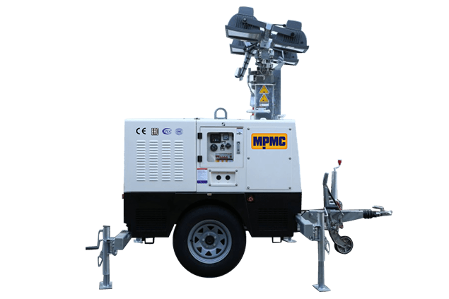 Hydraulic Light Tower Made By MPMC
