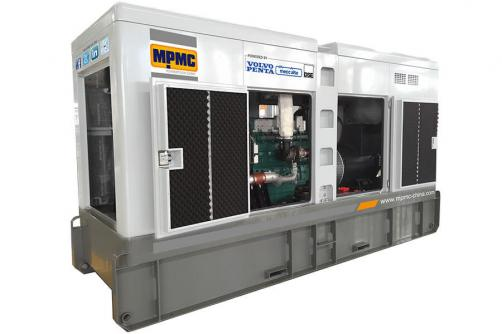 Volvo Silent Diesel Generator Made By MPMC
