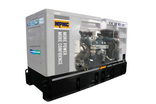 Doosan Silent Diesel Generator Made By MPMC