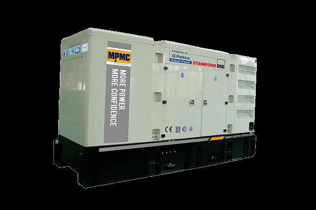 珀金斯静音柴油发电机组 Made By MPMC