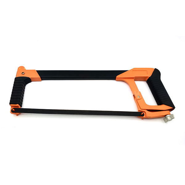 Square Tubular Hacksaw Frame With Aluminium Handle Double Soft Grip   431605