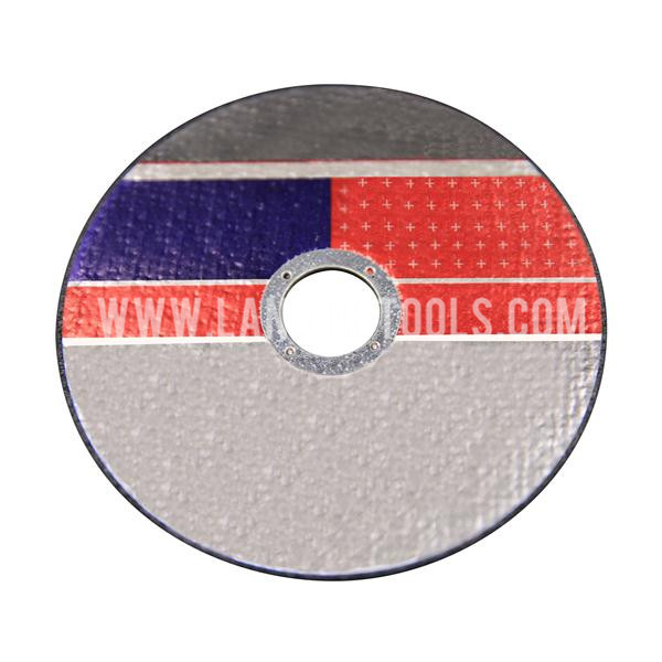 Flat Resin Bonded Abrasive Wheels  For Cutting Metal / Steel   501201