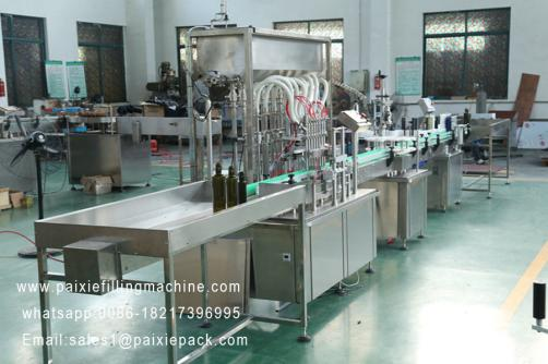 Edible oil olive oil bottle filling machine