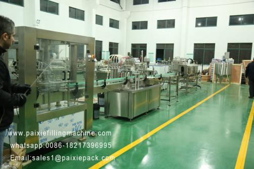 Drink juice filling machine