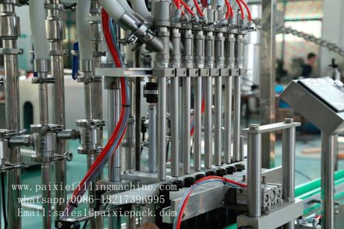 Professional filling capping machine for bottled wine