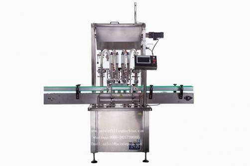 Glass round bottle filling capping machine