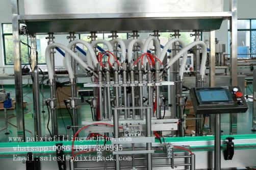 Peanut butter and mayonnaise jam filling capping machine