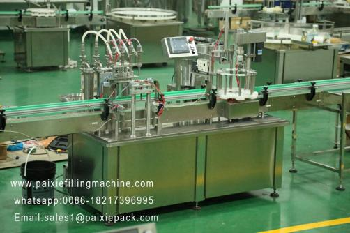 2 in 1 wine glass bottle filling capping machine