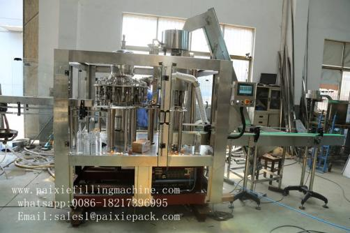 Juice bottle filling capping machine