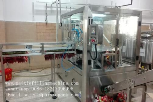 Automatic Spouted Pouch Filling Machine
