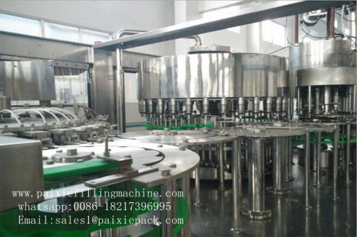 Mineral water Plastic bottle washing filling capping machine