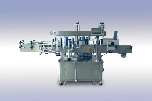 Round bottle two sides Labeling machine
