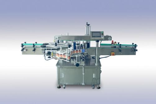 Flat Bottle Front & Back Labeler