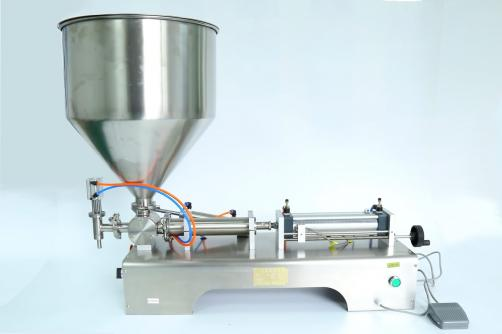 Semi-automatic PasteSemi-fluid Filling Machine