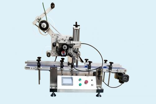 Semi-automatic Flat bottlesquare bottle Labeling Machine