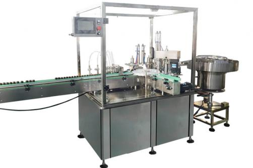 Glass dropper botlte/plastic dropper bottle filling capping machine