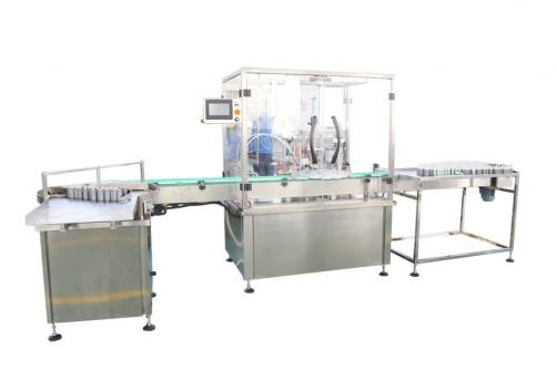 Perfume bottle filling capping machine