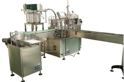 Perfume bottle spray filling capping machine