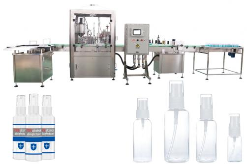Explosion proof filling machine