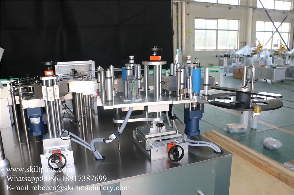 Round Bottle Rotary Labeling Machine