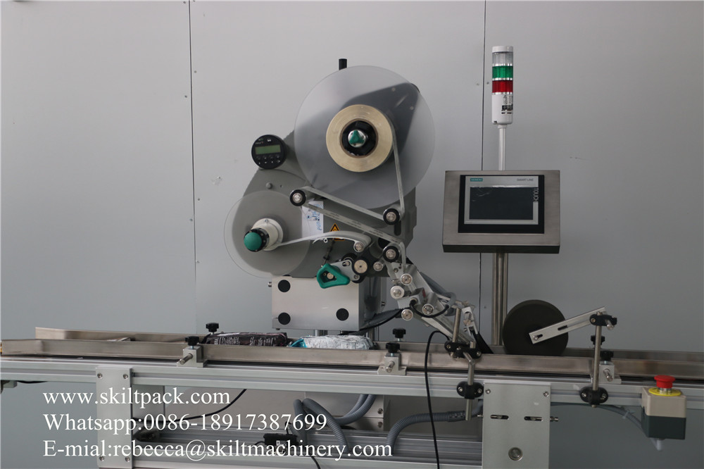 Top Surface Labeling Machine