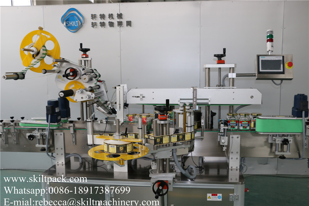 Front & Back & Top Surface Labeler