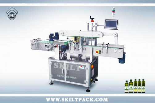 Square Oil Bottle Labeling Machine