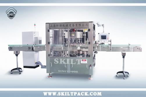 Square Bottle Rotary Way Labeler