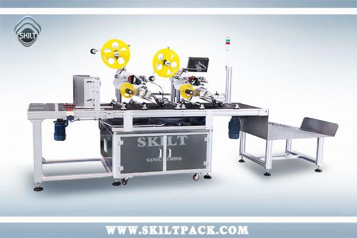 Top Two Stickers Paging&Labeling Machine
