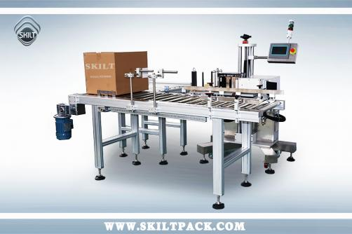 Carton Side/Corner Labeling Machine