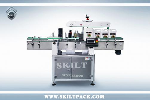 Flat Bucket Labeling Machine