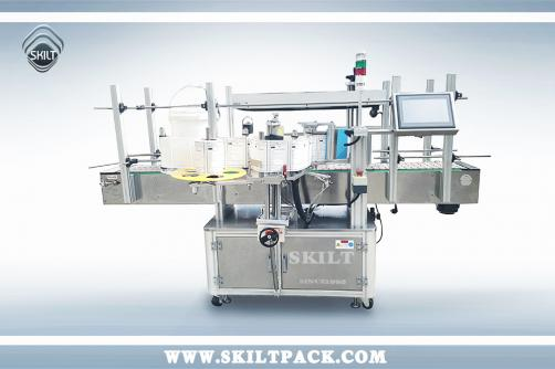 Round Bucket Labeling Machine