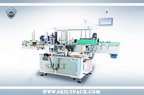 Bottle Three Four sides labeling machine