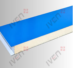 Mechanism polyurethane color steel laminboards
