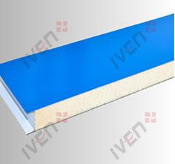 Mechanism polyurethane color steel laminboards