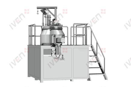 Wet type high shear mixing granulator