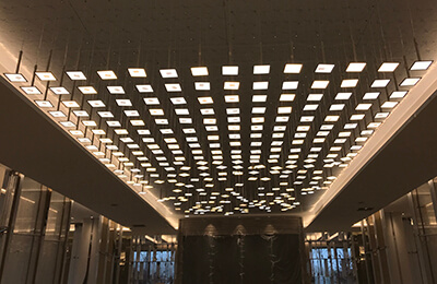 UIV OLED architectural lighting project completed