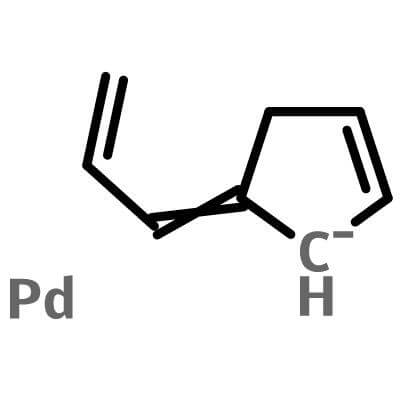 Allyl(Cyclopentadienyl)Palladium(II),1271-03-0,(η3-allyl)(η5-Cp)Pd