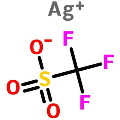 Silver Trifluoromethanesulfonate,2923-28-6,CF3SO3Ag