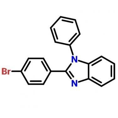 2-(4-Bromophenyl)-1-Phenyl-1H-Benzoimidazole,2620-76-0,C19H13BrN2