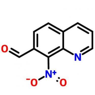 8-Nitroquinoline-7-carboxaldehyde,101327-87-1,C10H6N2O3?
