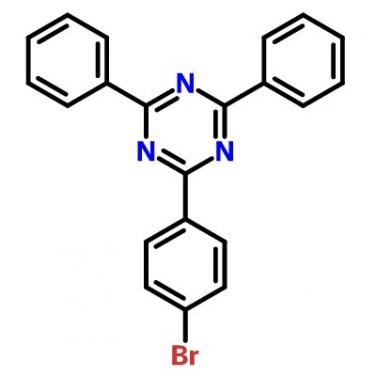 2-(4-Bromophenyl)-4,6-Diphenyl-1,3,5-Triazine,23449-08-3,C21H14BrN3