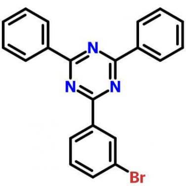 2-(3-Bromophenyl)-4,6-Diphenyl-1,3,5-Triazine,864377-31-1,C21H14BrN