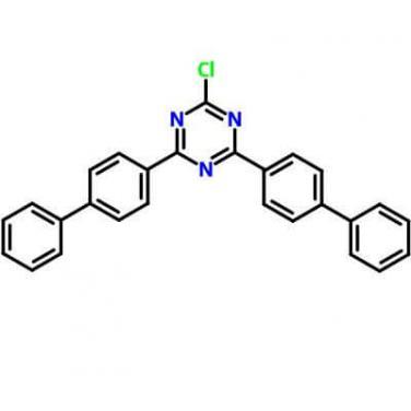 2,4-Bis([1,1'-Biphenyl]-4-Yl)-6-Chloro-1,3,5-Triazine,182918-13-4,C27H18ClN3