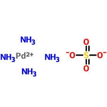Tetraamminepalladium(II) Sulfate,13601-06-4,[Pd(NH3)4]SO4